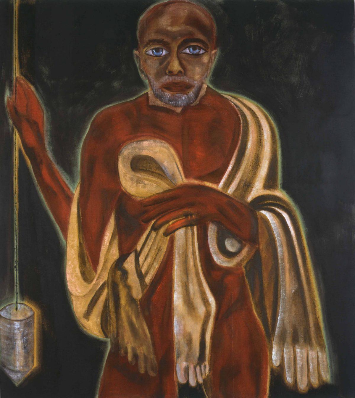 Self-Portrait as St. Bartholomew