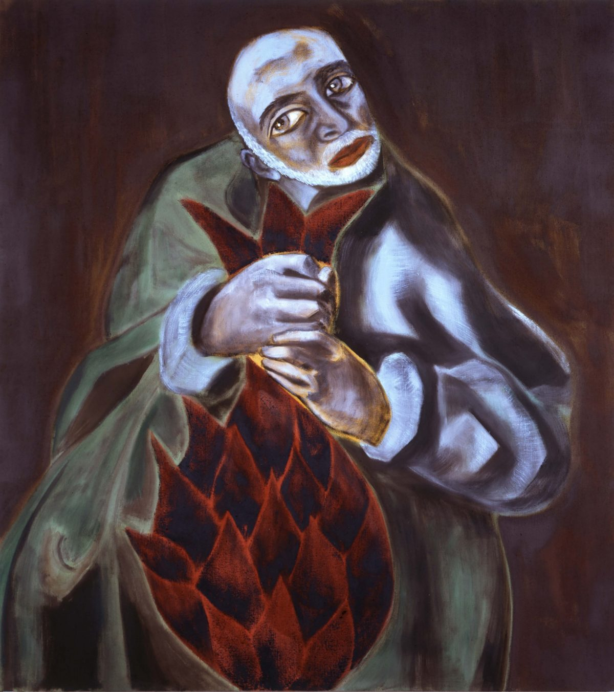 Self-Portrait as St. Thaddeus