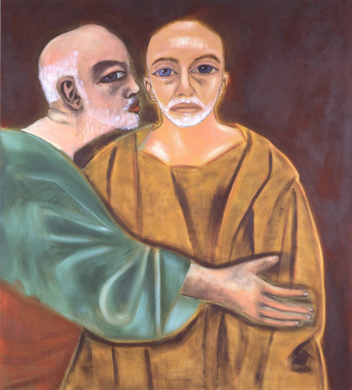 Self-Portrait as Judas
