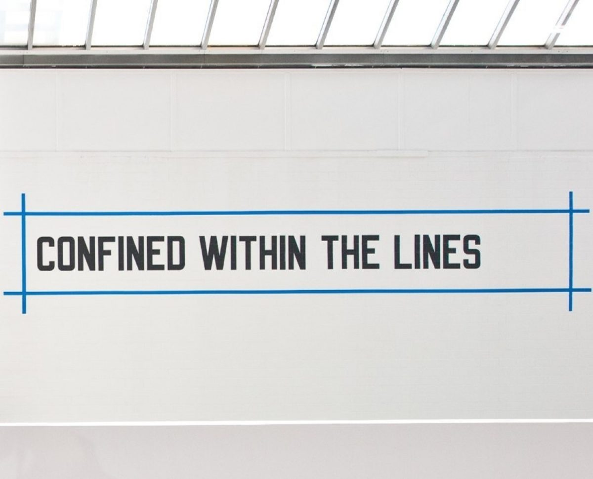 CONFINED WITHIN THE LINES