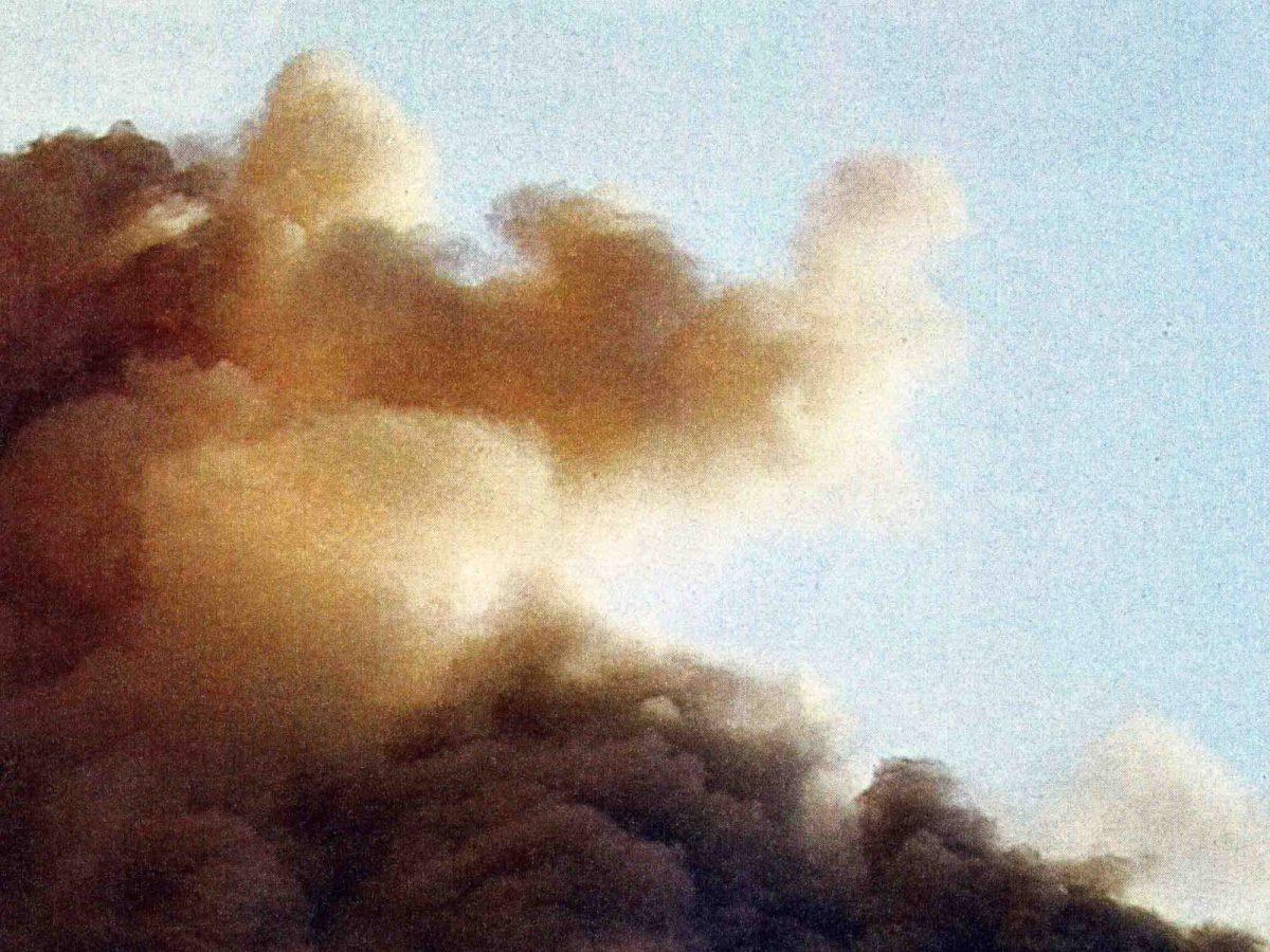 Cloud No. 1: 7 March, 2011, Ra's Lanuf, Libya