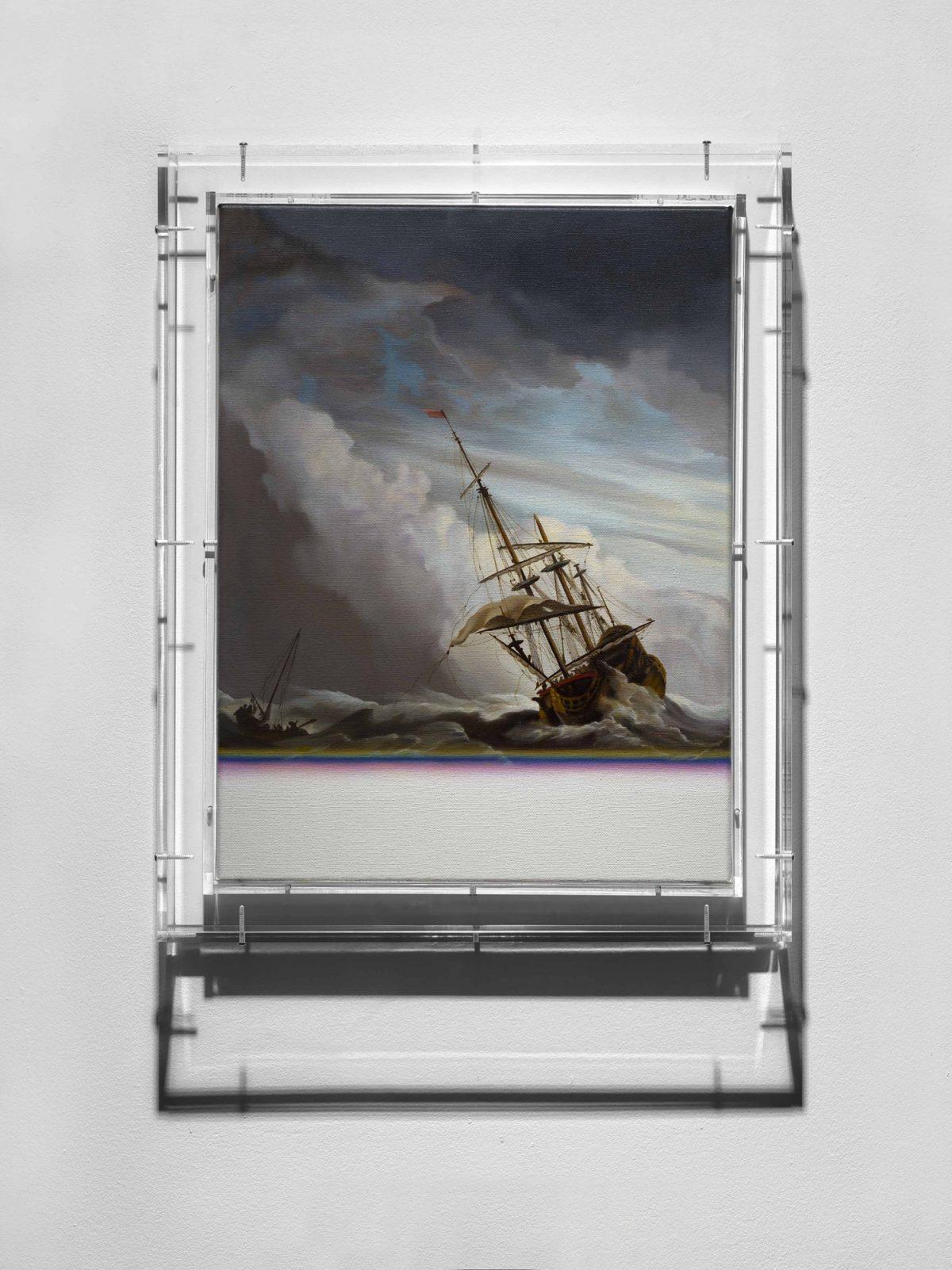Expiration Painting, Galleon