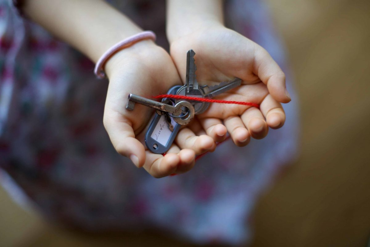 The key in the hand