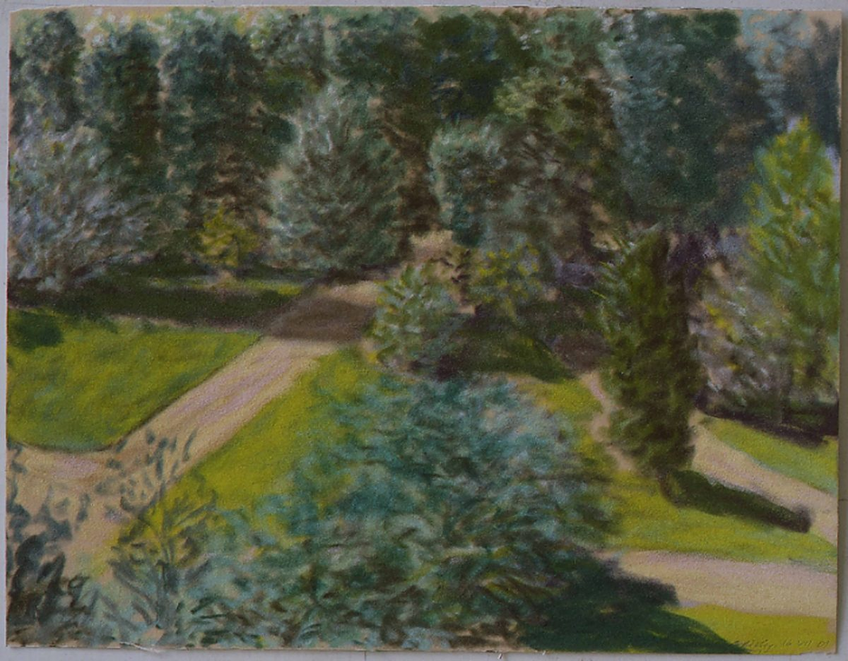 The Augustine Nun's garden