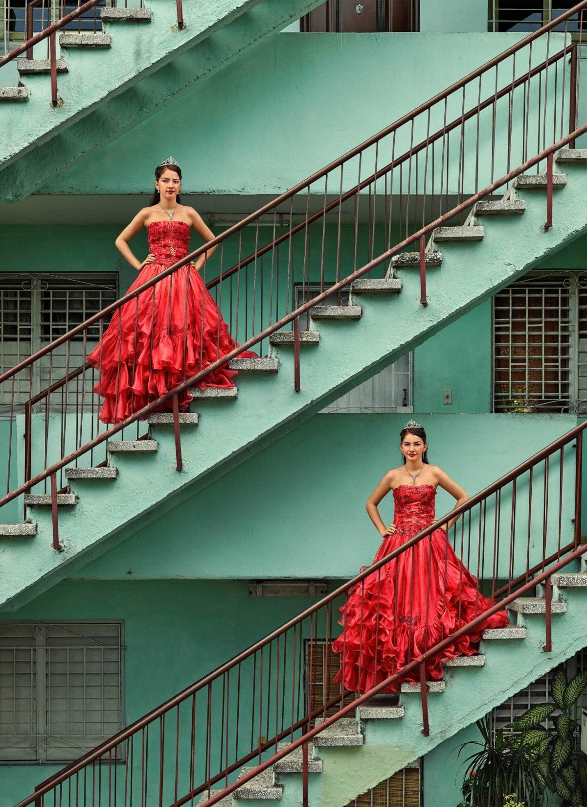 Kiara Isabel & Karla Amelia Soliño González, La Habana, Plaza de la Revolución, Nuevo Vedado