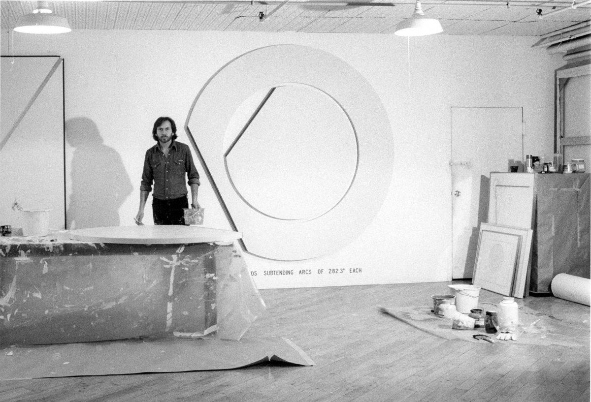 Bernar Venet In His Studio New York 1978 Courtesy Archives Bernar Venet New York
