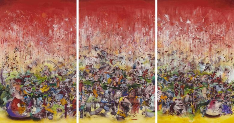 Ali Banisadr in conversation with Dr Charlotte Mullins at The Arts Club, London