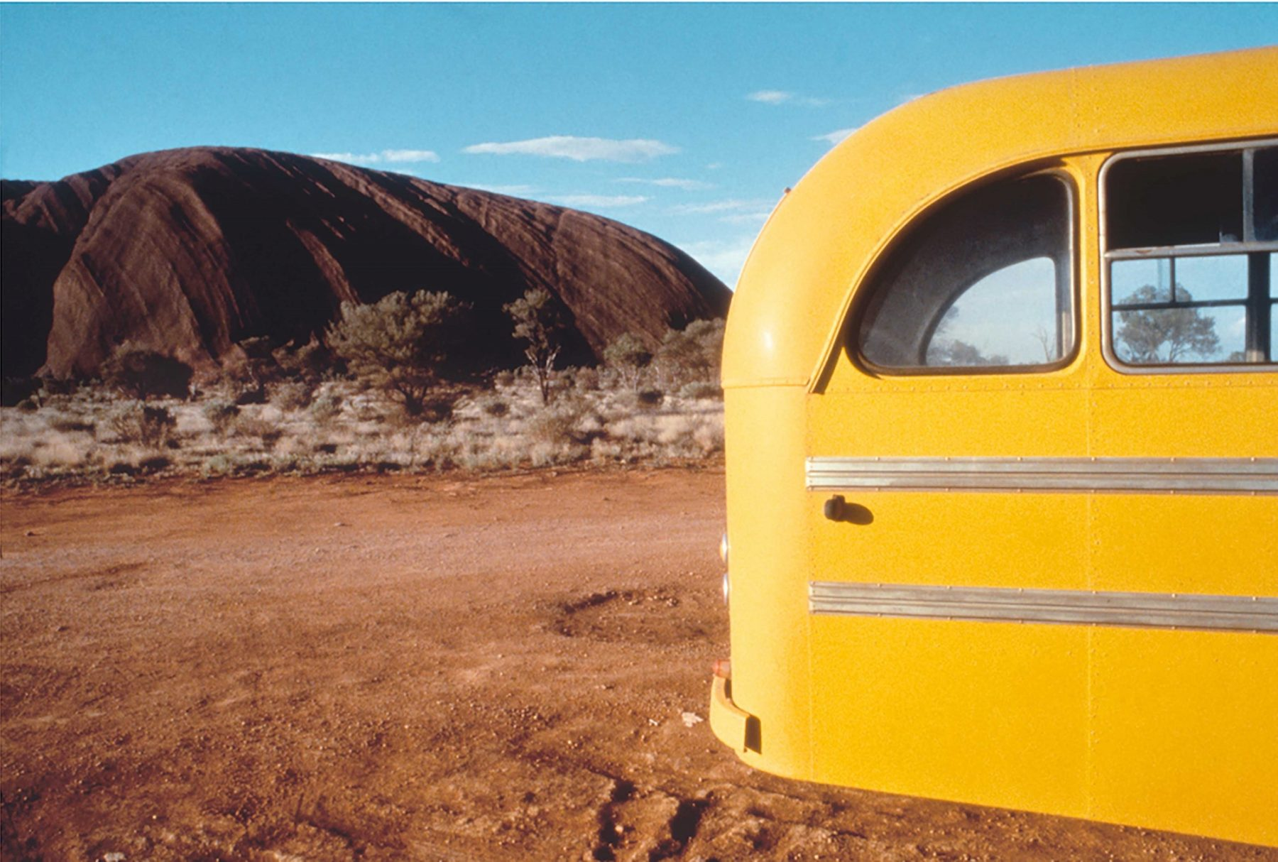Yellow Bus, Uluru