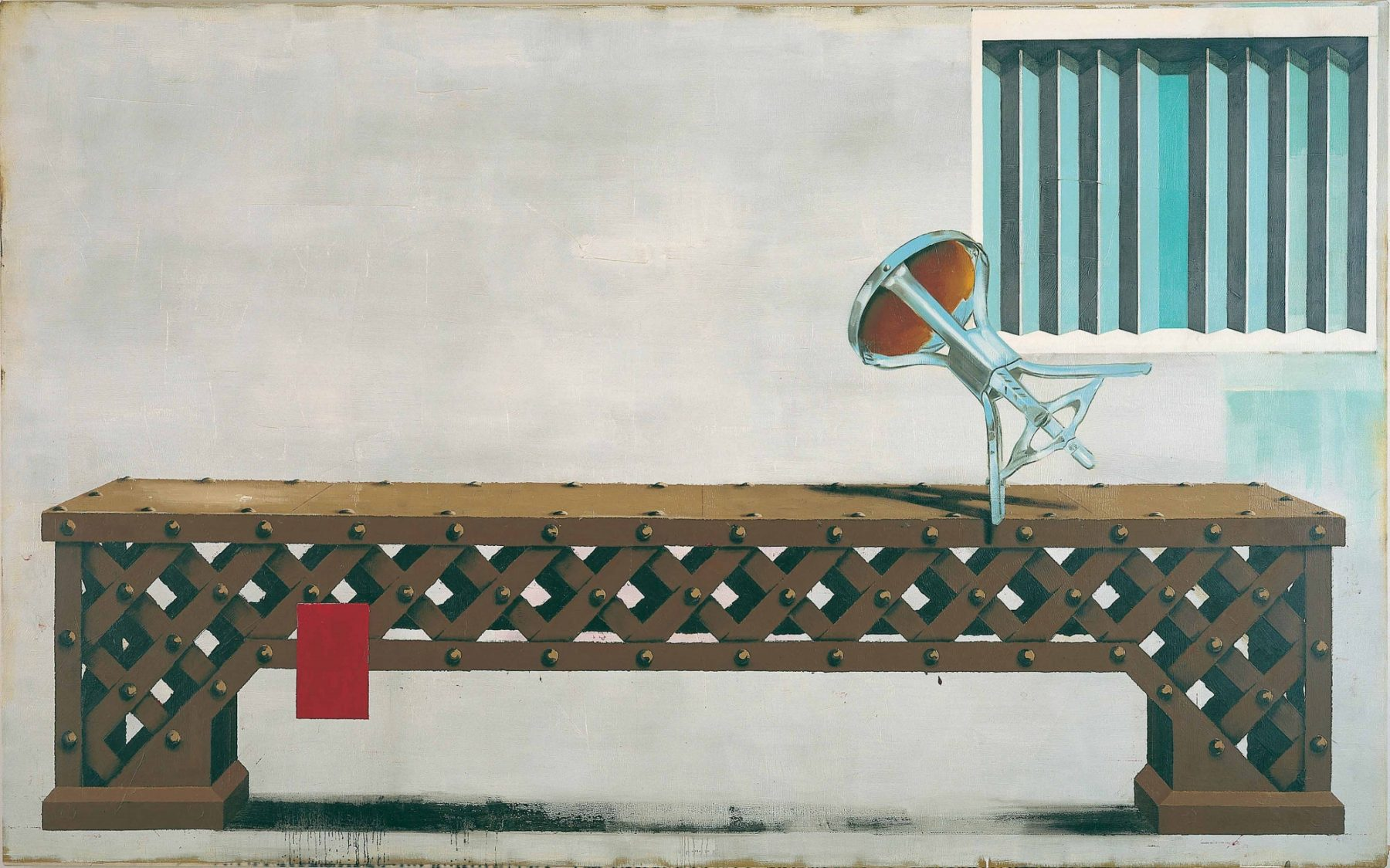 Bench Painting 28