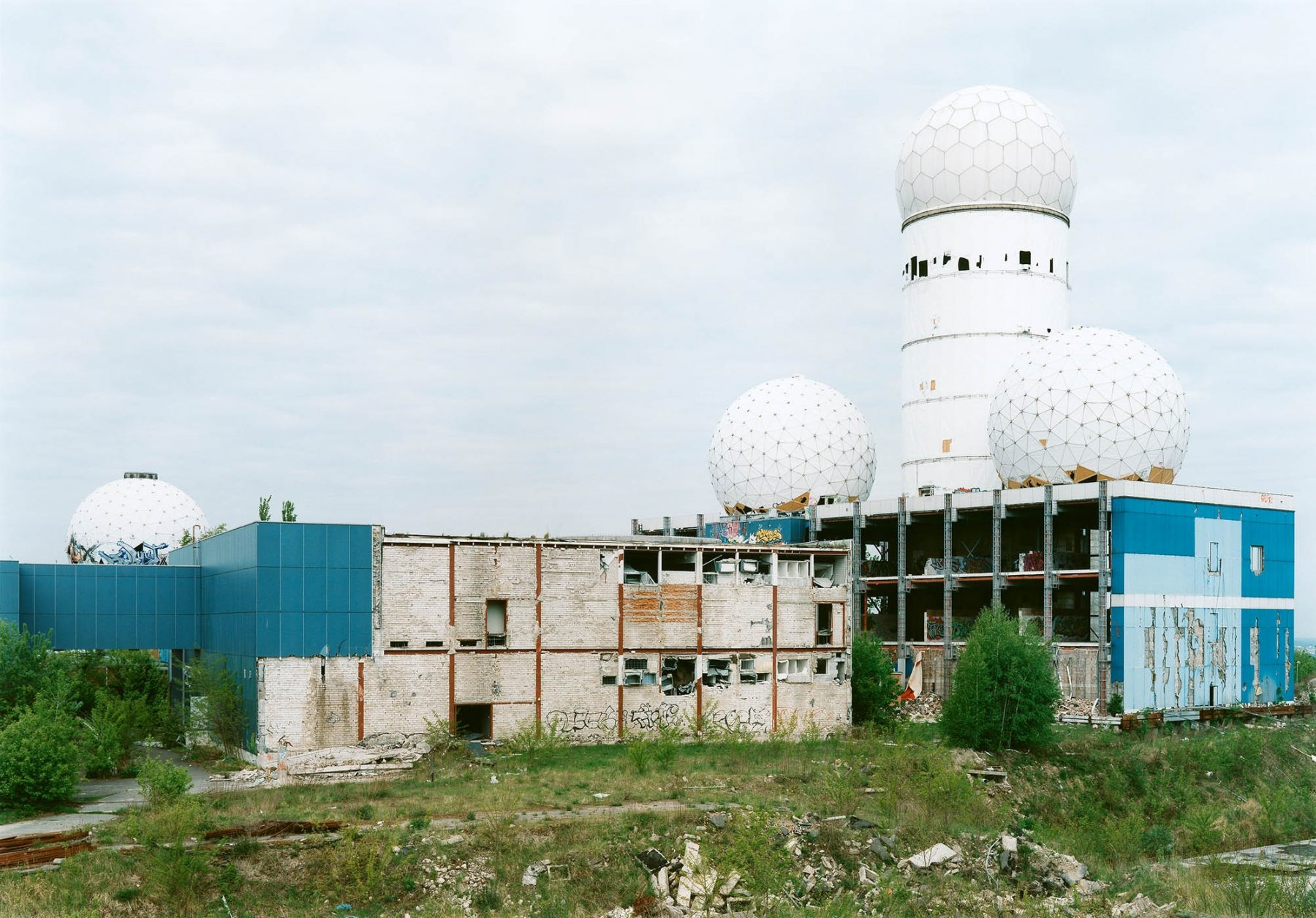 untitled (NSA Field Station, Berlin, Teufelsberg #05)