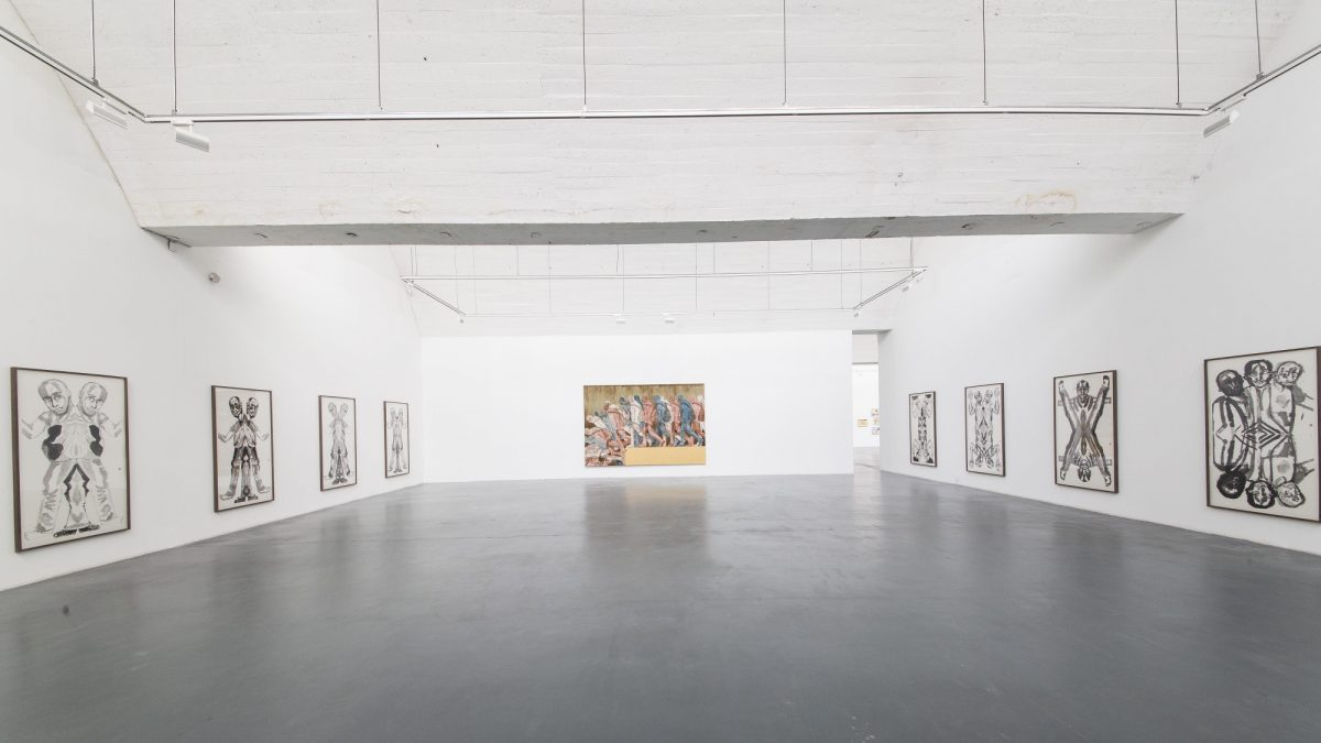 A Nomadic Life Francesco Clemente In China 2016 Installation View Springs Center Of Art Beijing 3