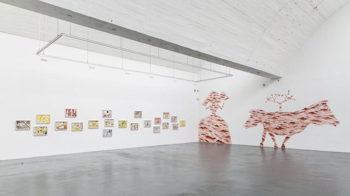 A Nomadic Life Francesco Clemente In China 2016 Installation View Springs Center Of Art Beijing 8