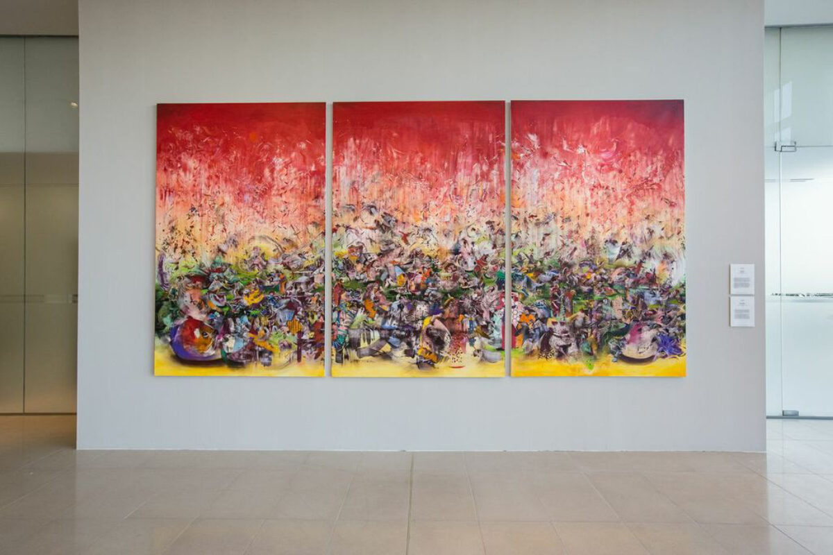 Ali Banisadr Love Me Love Me Not Contemporary Art From Azerbaijan And Its Neighbors Installation View