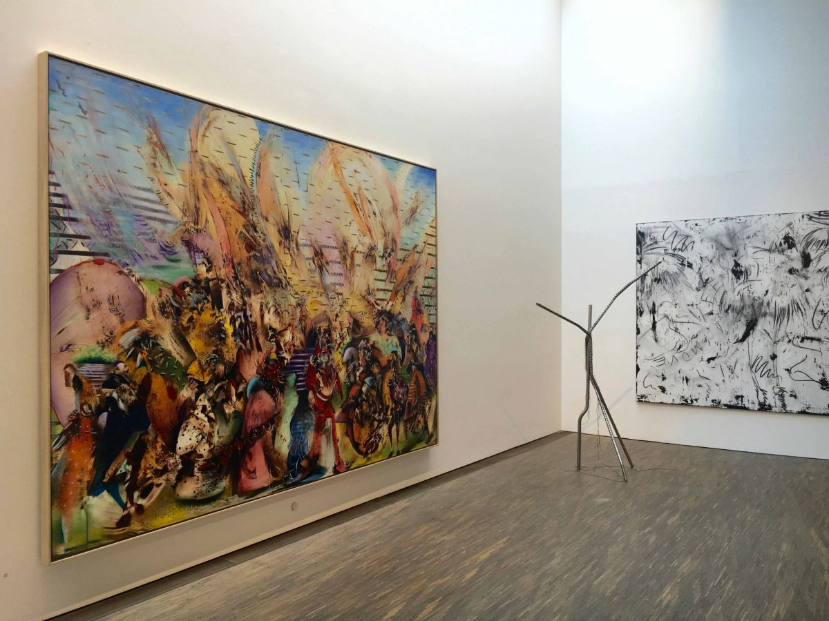 Ali Banisadr My Abstract World Me Collectors Room Berlin Stiftung Olbricht Installation View 2016