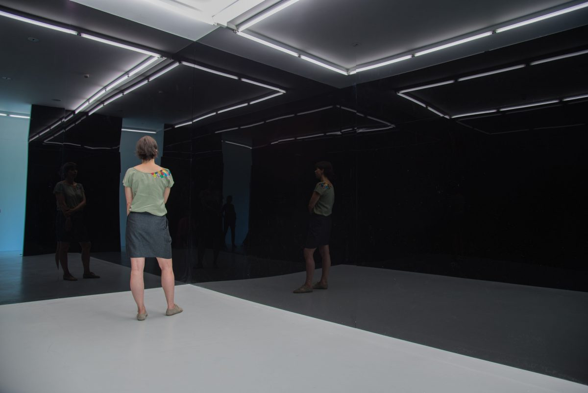 Bernar Venet Les Origines 2016 Installation View Photo Jérôme Cavalière 1