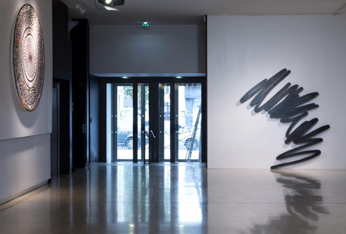 Bernar Venet Lettres Ouvertes Installation View Insitut Des Cultures Dislam Photo Marc Domage 1
