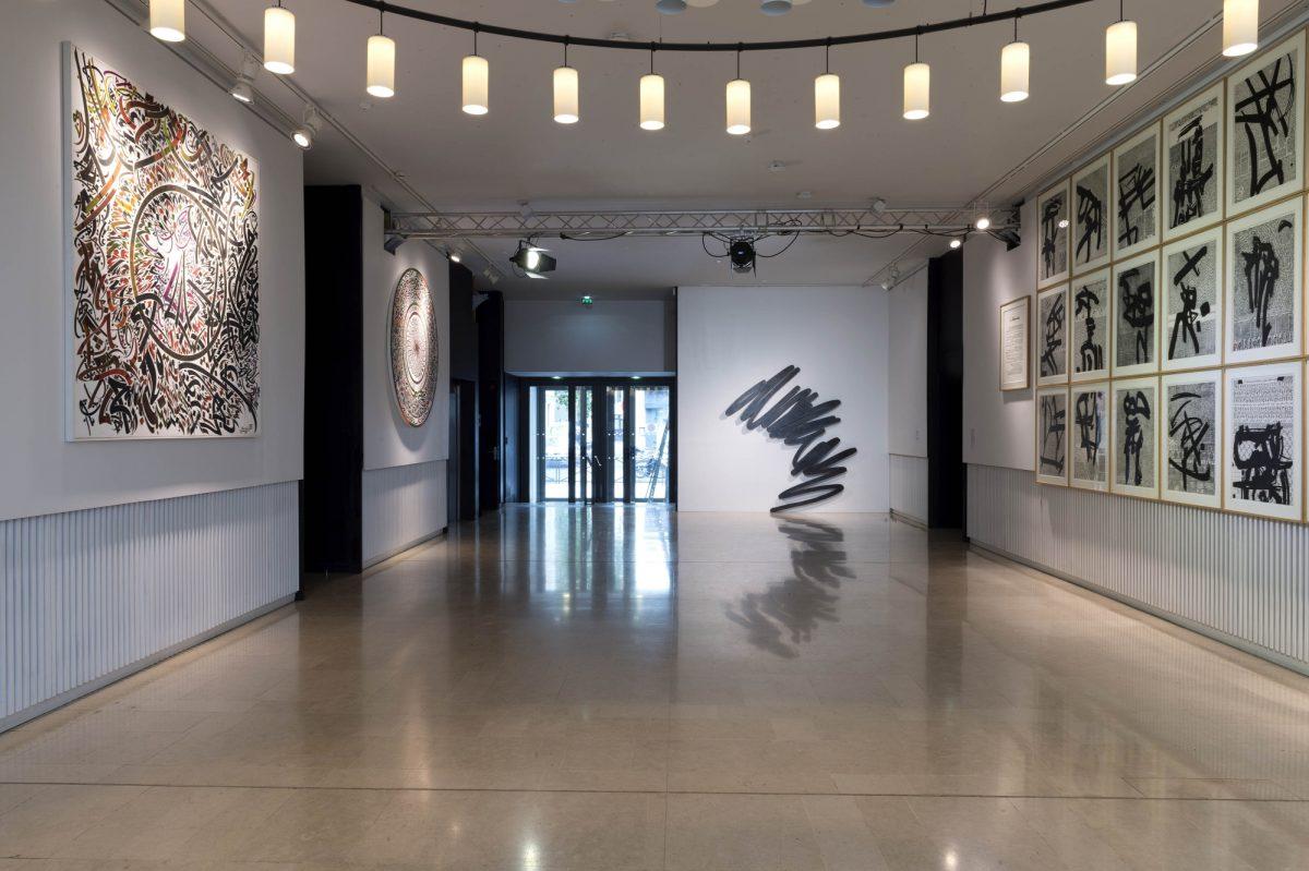 Bernar Venet Lettres Ouvertes Installation View Insitut Des Cultures Dislam Photo Marc Domage 2