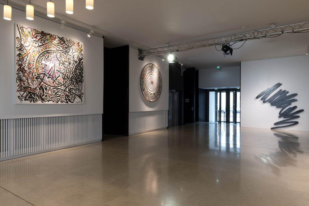 Bernar Venet Lettres Ouvertes Installation View Insitut Des Cultures Dislam Photo Marc Domage 3