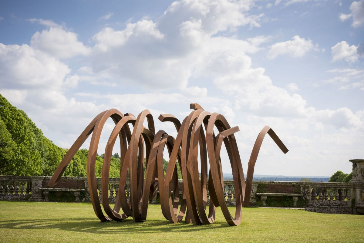 Bernar Venet At Cliveden Installation View 2017 Courtesy Archives Bernar Venet New York And Blain Southern Photo Jonty Wilde 13