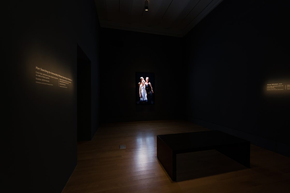 Bill Viola The Moving Portrait The National Portrait Gallery Installation View Photo 5