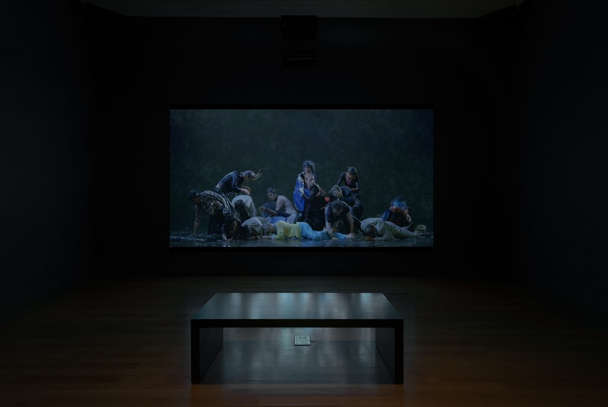 Bill Viola The Moving Portrait The National Portrait Gallery Installation View Photo 7