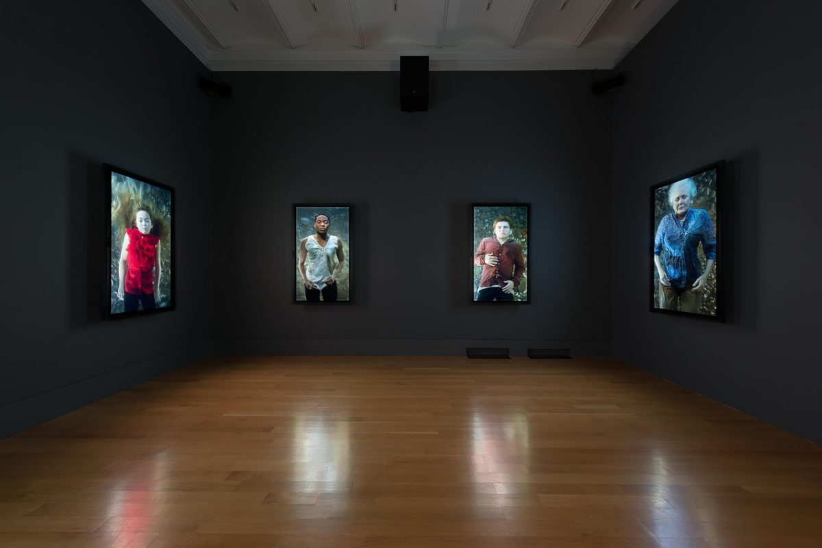 Bill Viola The Moving Portrait The National Portrait Gallery Installation View Photo 8