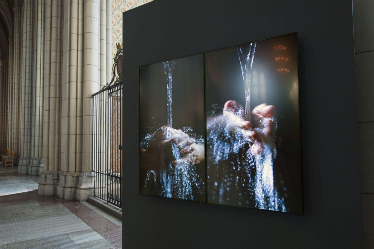 Bill Viola Visitation Reformation 2017 Installation Foto Magnus Aronson 2