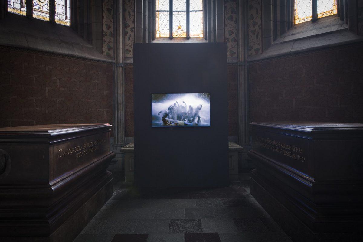 Bill Viola Visitation Reformation 2017 Installation Foto Magnus Aronson 4