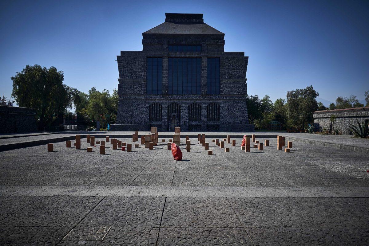 Bosco Sodi Elemental Installation View 2017 Museo Anahuacalli Courtesy Of Studio Bosco Sodi 1