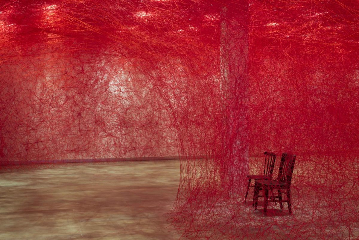 Chiharu Shiota Infinity Lines Installation At Scad Museum Of Art Photograph Courtesy Of Savannah College Of Art And Design 2