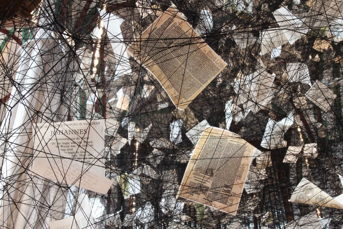 Chiharu Shiota Lost Words Museum Nikolaikirche Installation View 2017 2