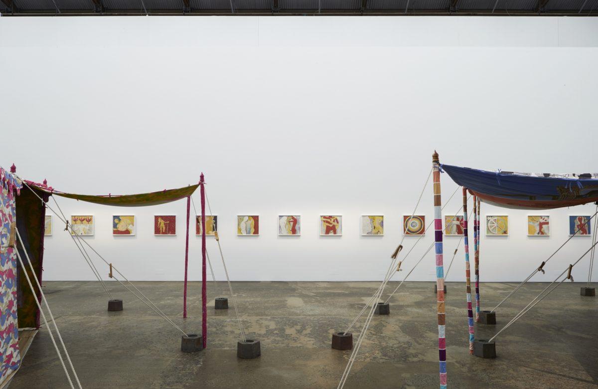 Francesco Clemente Encampment Carriageworks Installation View 2016 Photo Zan Wimberley 2