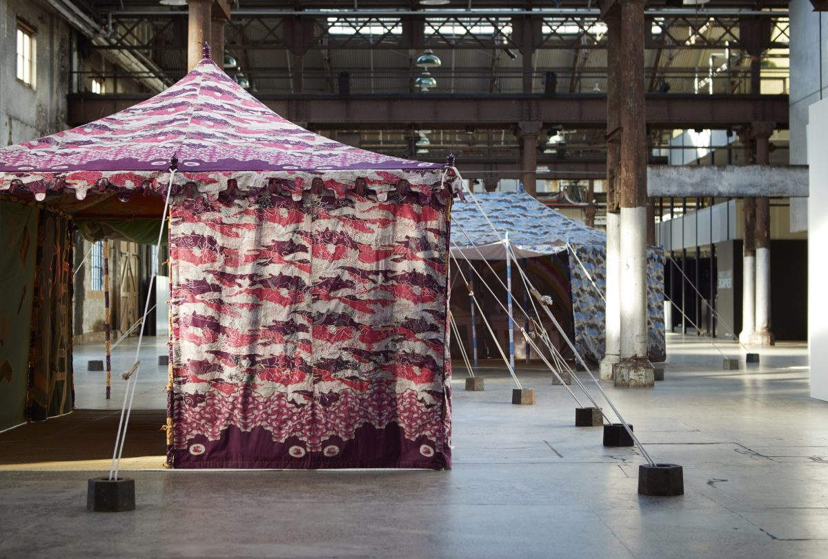 Francesco Clemente Encampment Carriageworks Installation View 2016 Photo Zan Wimberley 3