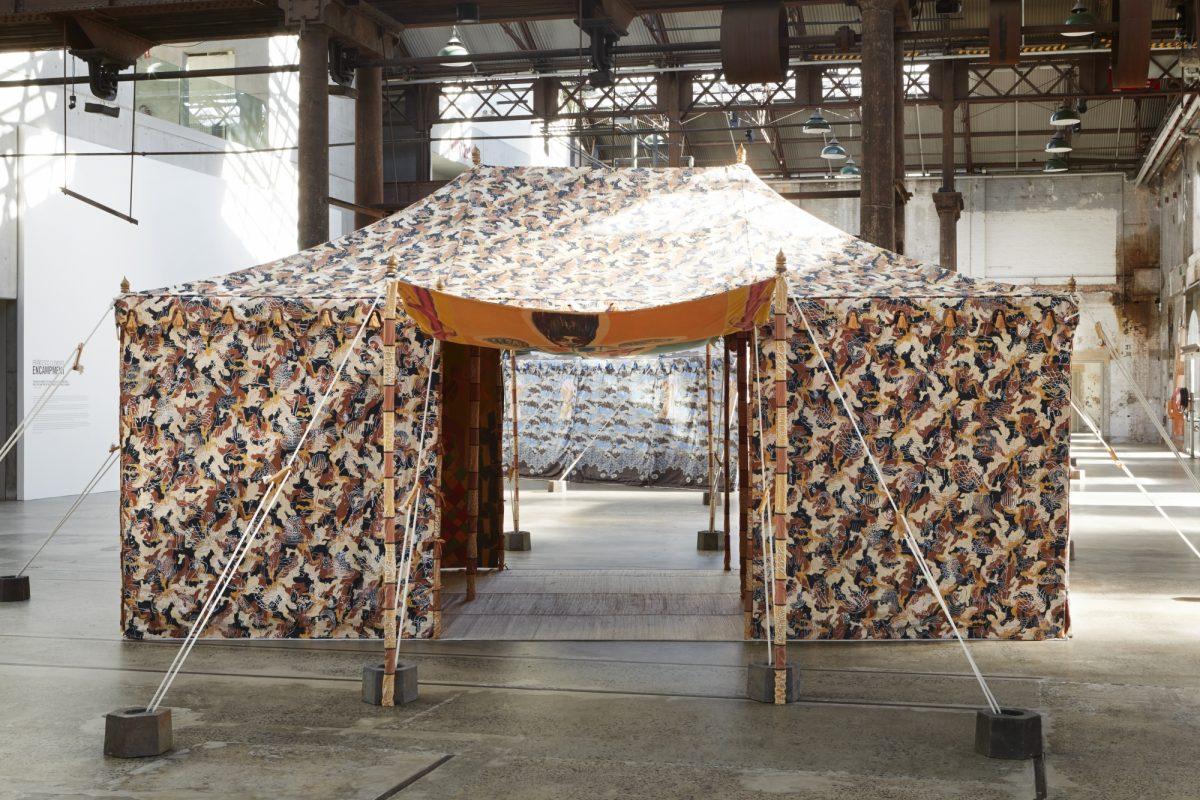 Francesco Clemente Encampment Carriageworks Installation View 2016 Photo Zan Wimberley 5