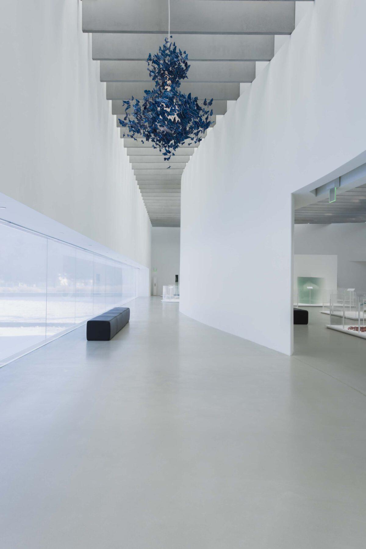 Jeroen Verhoeven Virtue Of Blue 2010 Installation View Corning Museum Of Glass