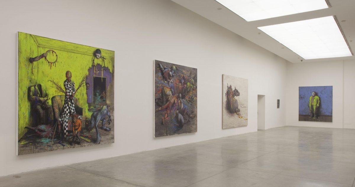 Jonas Burgert Lotsucht Scandagliodipendenza Installation View 2016 Mambo Italy It 11