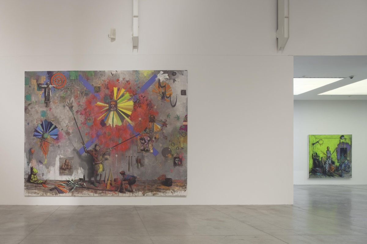 Jonas Burgert Lotsucht Scandagliodipendenza Installation View 2016 Mambo Italy It 12