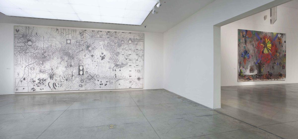 Jonas Burgert Lotsucht Scandagliodipendenza Installation View 2016 Mambo Italy It 13