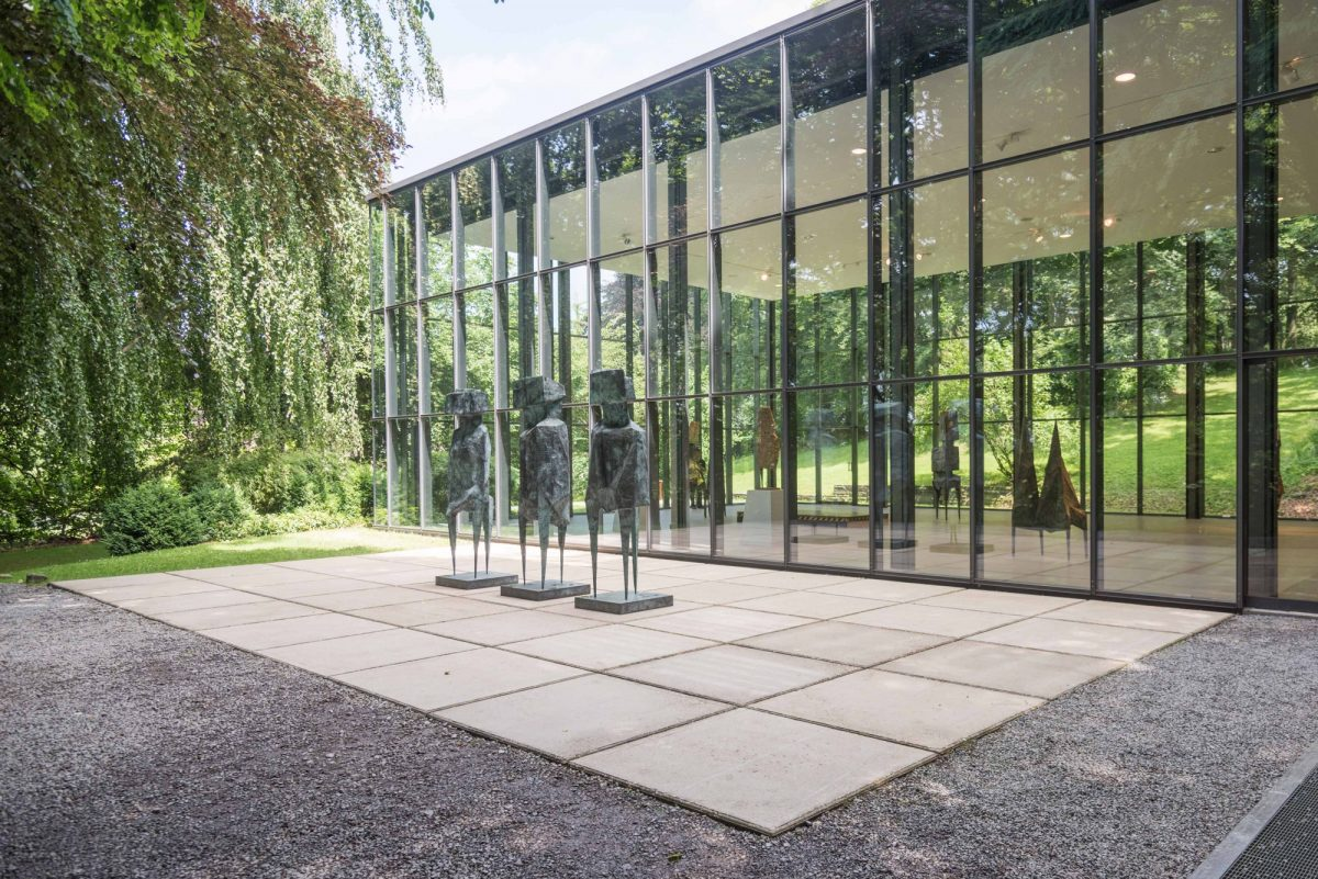 Lynn Chadwick Skulpturenpark Waldfrieden 2015 Installation View Of The Watchers Courtesy The Estate Of Lynn Chadwick And Blain Southern 2 5