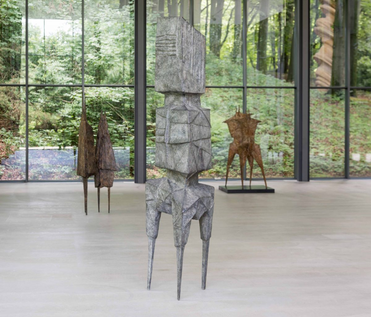 Lynn Chadwick Skulpturenpark Waldfrieden 2015 Installation View Of The Watchers Courtesy The Estate Of Lynn Chadwick And Blain Southern 2 7