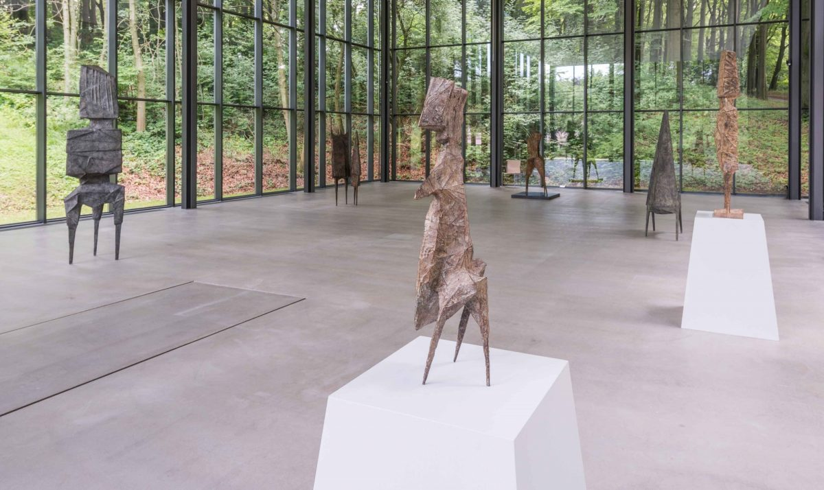 Lynn Chadwick Skulpturenpark Waldfrieden 2015 Installation View Of The Watchers Courtesy The Estate Of Lynn Chadwick And Blain Southern 6