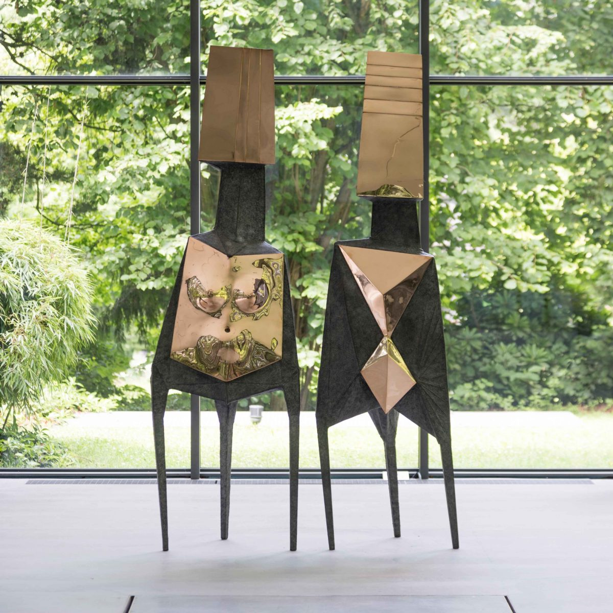 Lynn Chadwick Skulpturenpark Waldfrieden 2015 Installation View Of The Watchers Courtesy The Estate Of Lynn Chadwick And Blain Southern 9