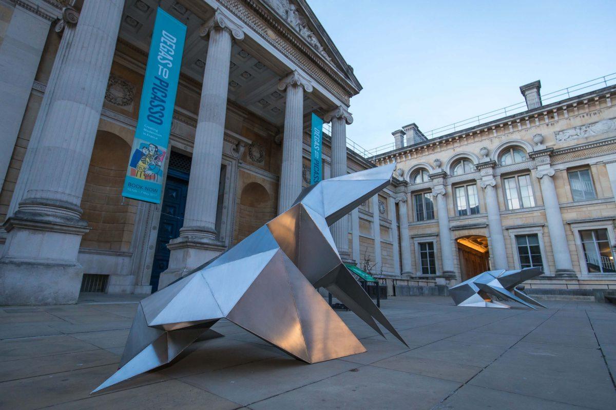 Lynn Chadwick At The Ashmolean Installation View 2017 Courtesy The Ashmolean Museum Ian Wallman 2017 4