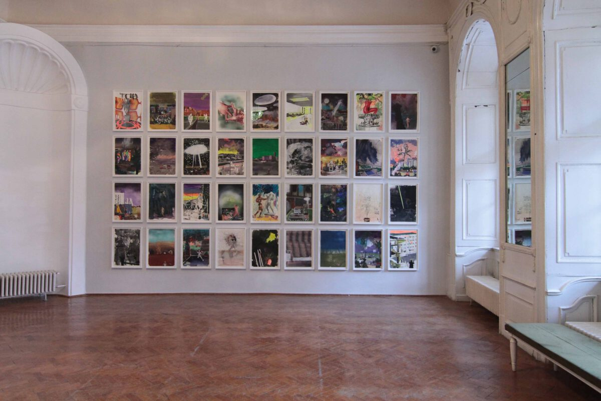 Marius Bercea A Full Rotation Of The Moon 2017 Installation View Cluj Museum Of Art 2