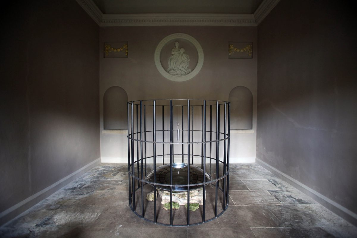 Mat Collishaw Folly Installation View Fountains Relief Fountains Abbey Studley Royal North Yorkshire Uk 3