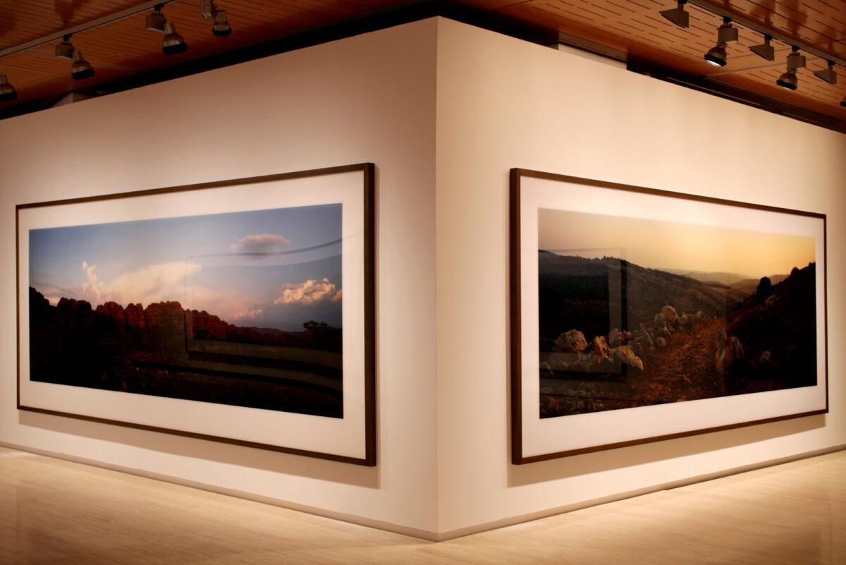 Wim Wenders Wim Wenders Photographs Installation View Fundació Sorigué 1