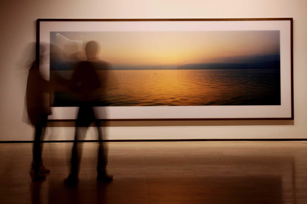 Wim Wenders Wim Wenders Photographs Installation View Fundació Sorigué 3