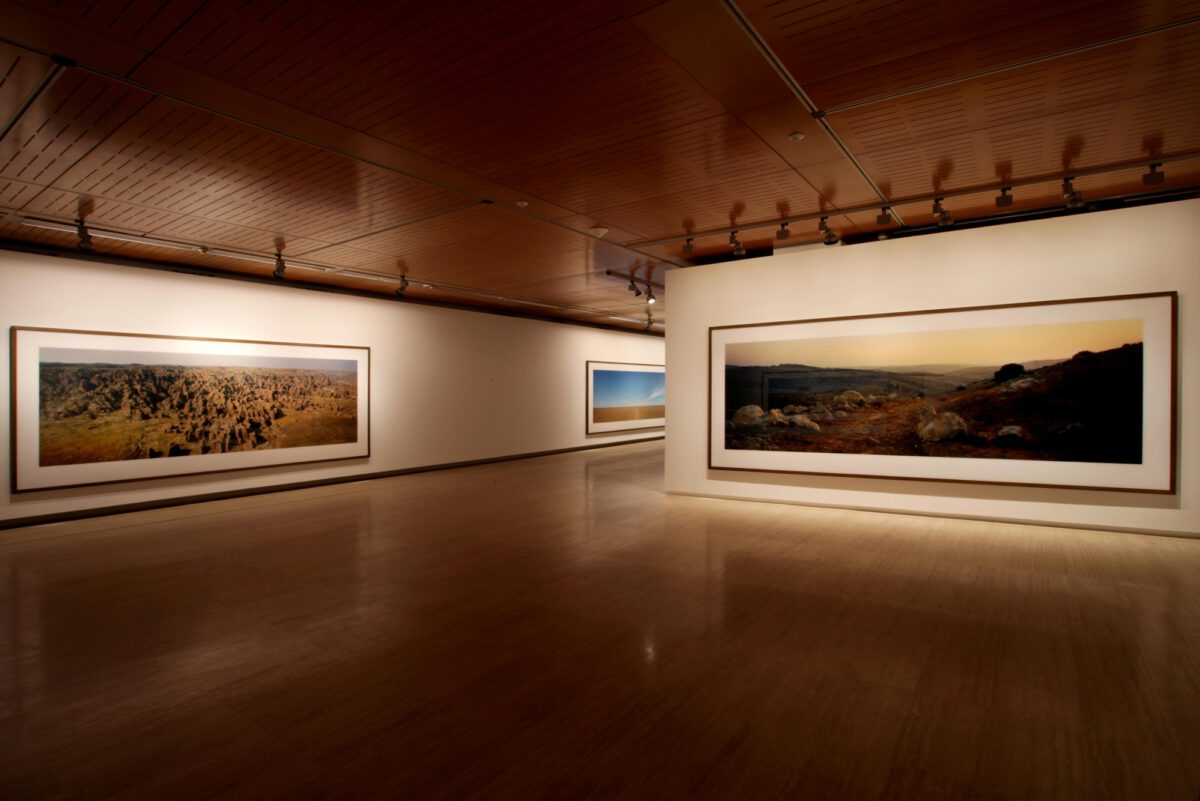 Wim Wenders Wim Wenders Photographs Installation View Fundació Sorigué 4