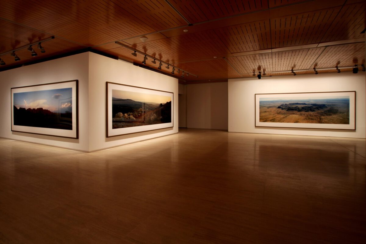 Wim Wenders Wim Wenders Photographs Installation View Fundació Sorigué 5