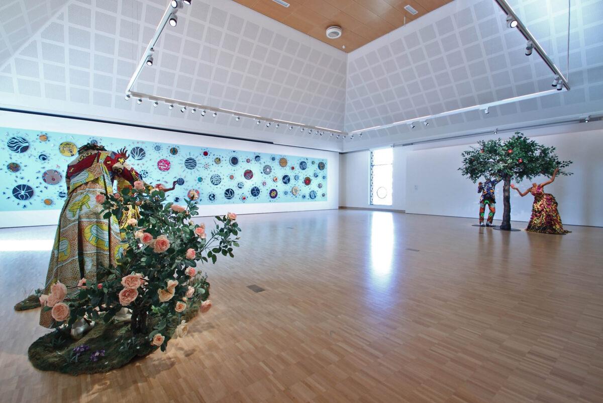 Yinka Shonibare Mbe Paradise Beyond Installation View Gemeentemuseum Helmond Installation View 1